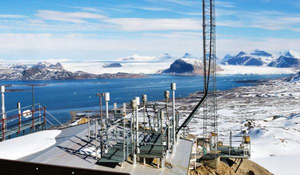 Zeppelinobservatoriet i Ny Ålesund på Svalbard